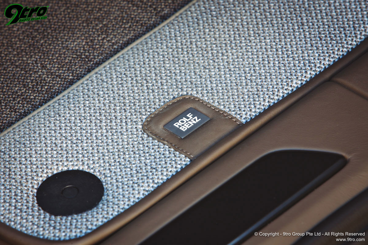 TechArt Cayenne Rolf Benz Edition - A Stitch in Time
