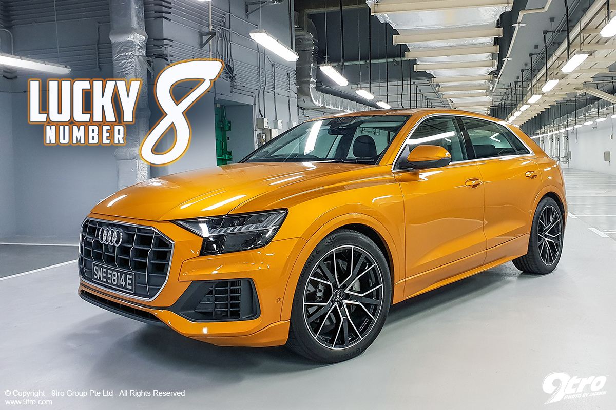 Audi Q8 - Lucky Number 8