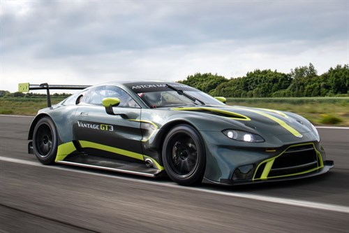 Aston Martin Vantage GT3 to race in Japan's Super GT