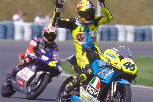 Monster Energy traces Rossi's career highlights