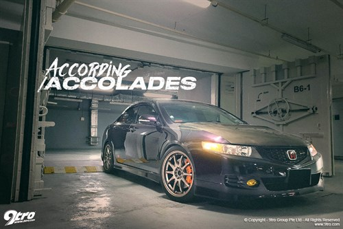 Joshua's Honda Accord Euro R - According Accolades