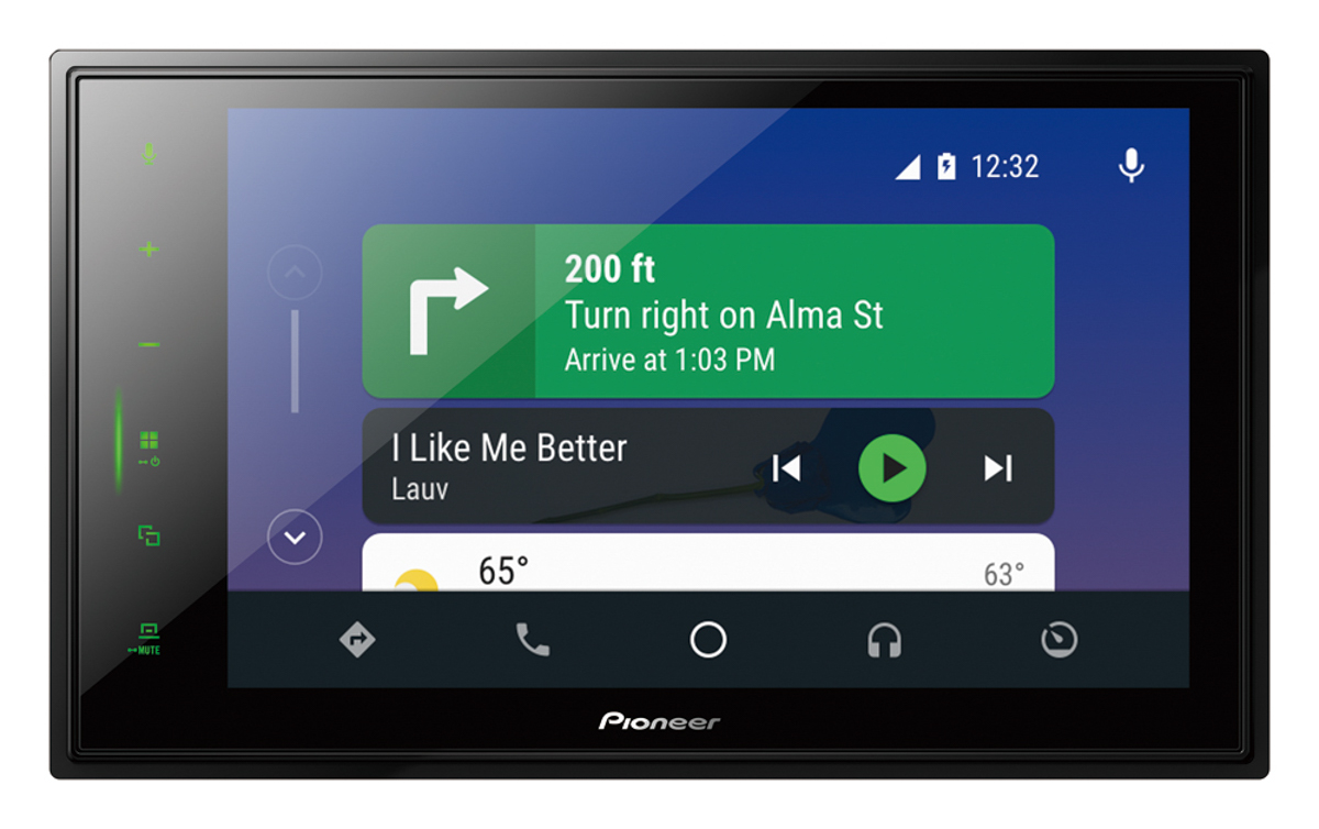 Pioneer's New Z-Series Receivers Transform The In-Car Experience For 2020 and Beyond with Big Screens and Cutting-Edge Audio
