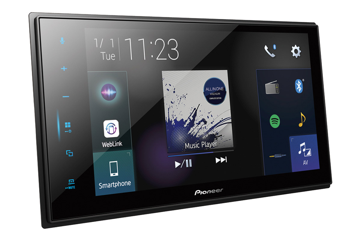 Pioneer's New Z-Series Headunits