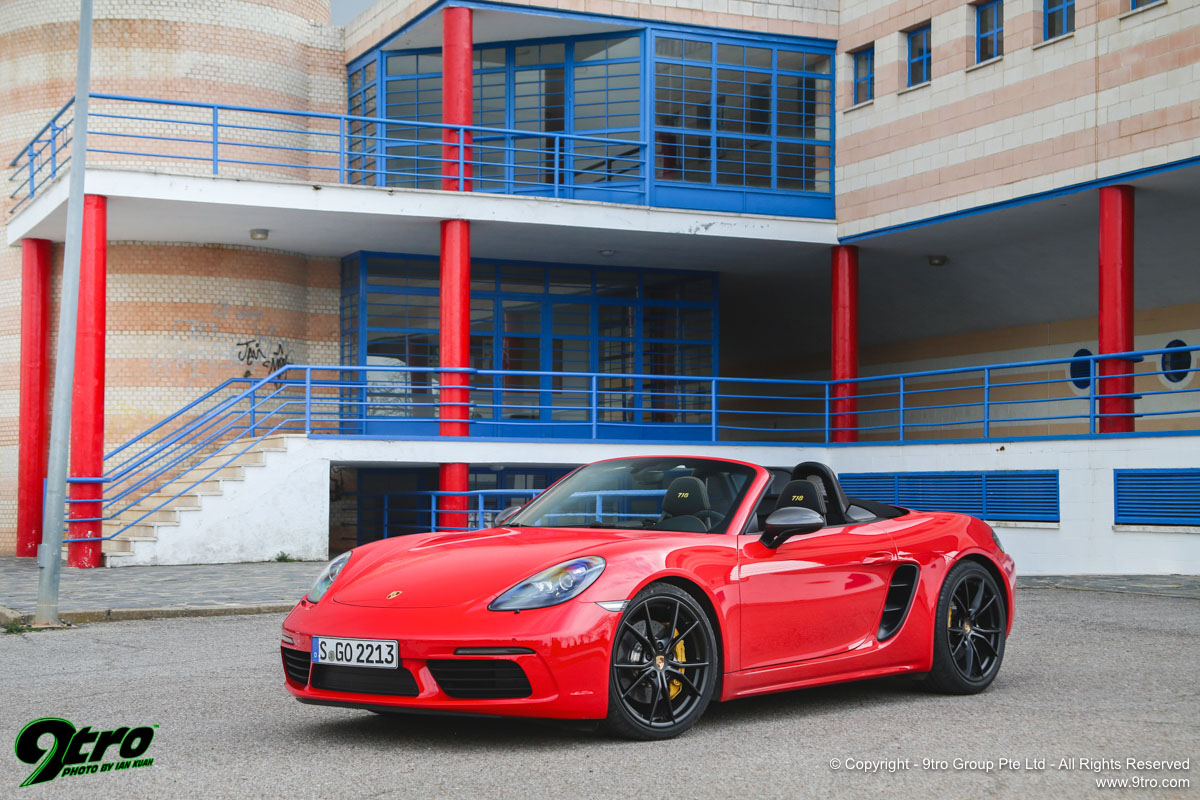 Porsche 718 Boxster & Cayman T - T for Two