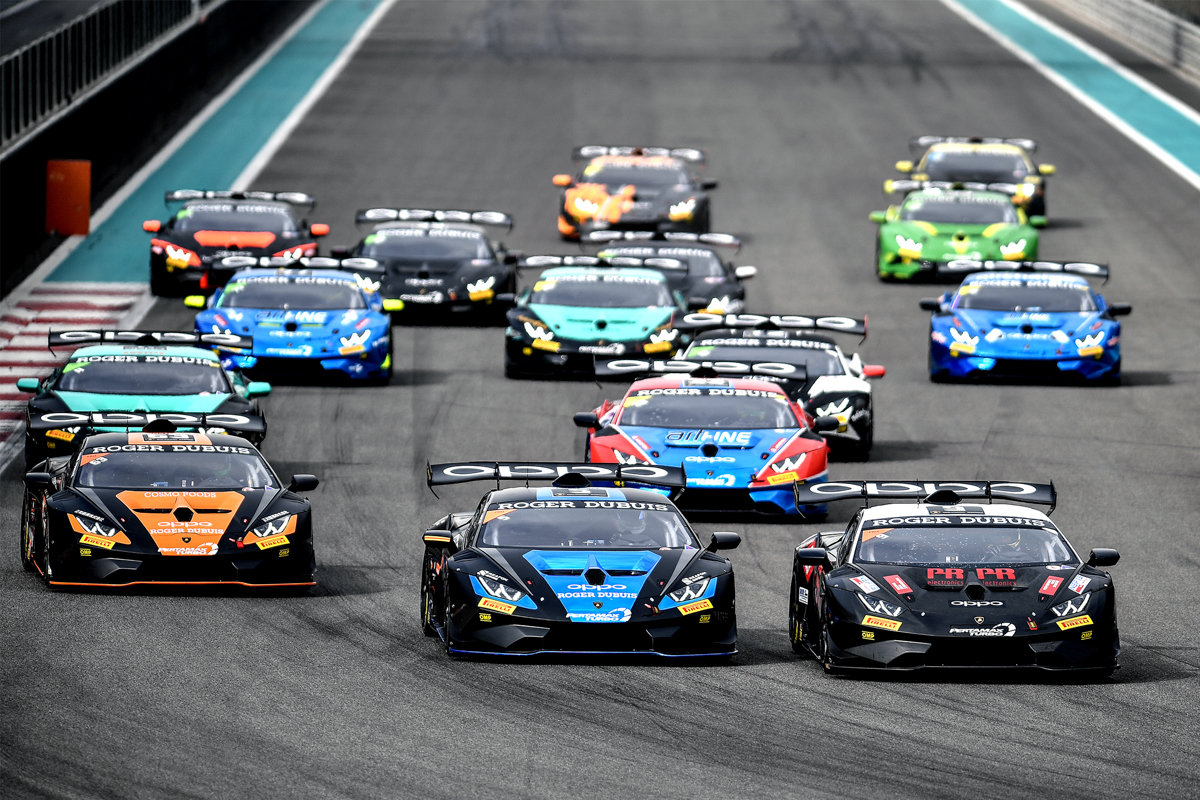 2019 Lamborghini Super Trofeo Middle East Round 1 & 2 - Race