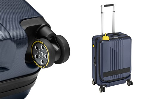 Montblanc x Pirelli Trolley Collection