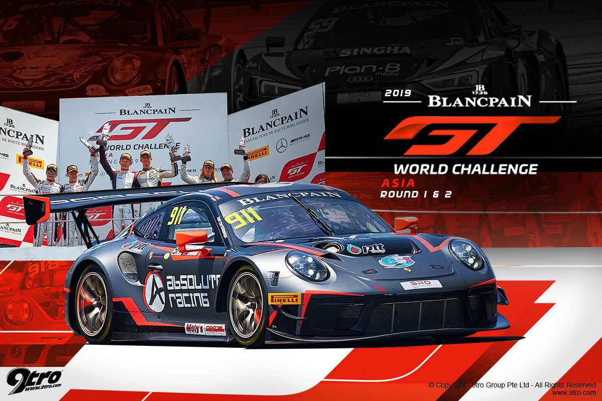 2019 Blancpain GT World Challenge Asia Round 1 & 2 - Race