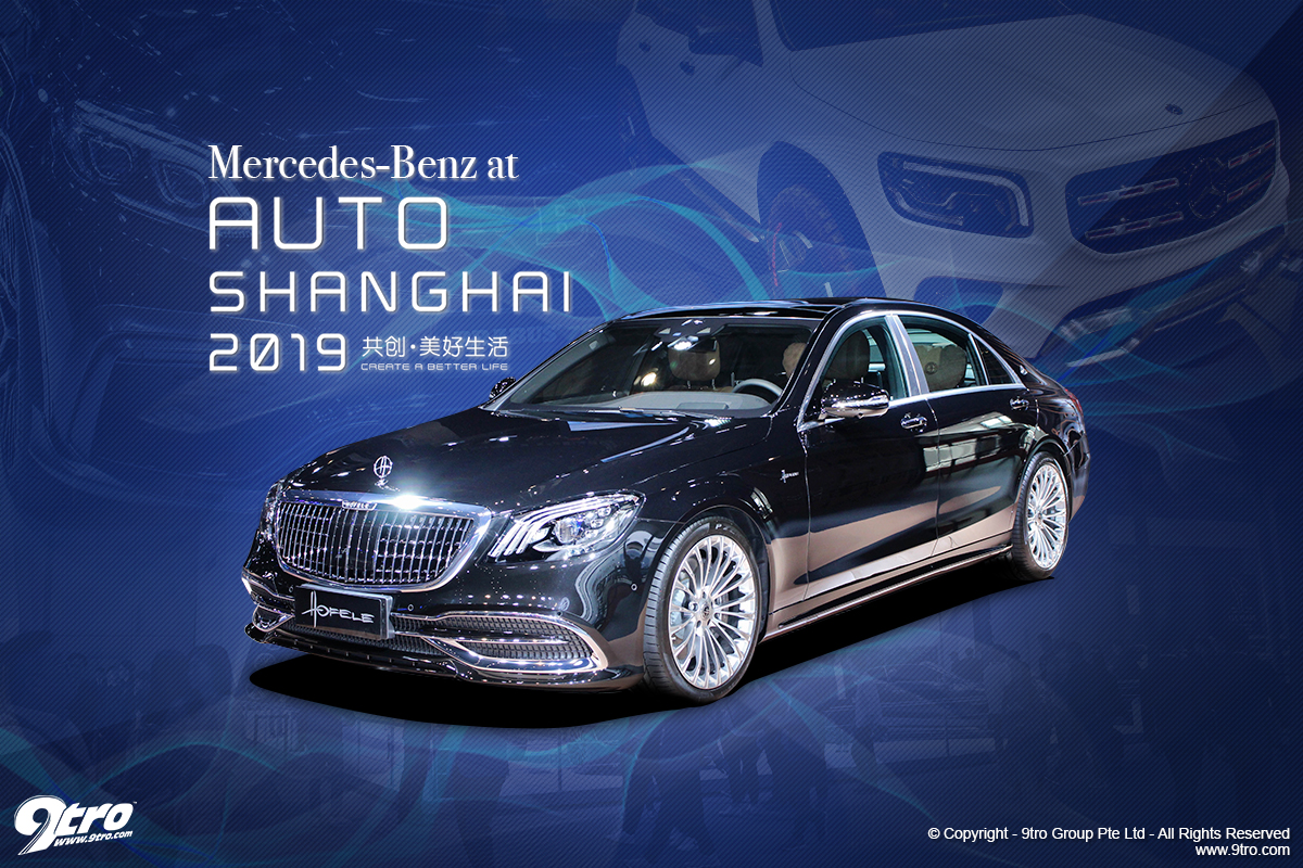 Mercedes-Benz at 2019 Auto Shanghai