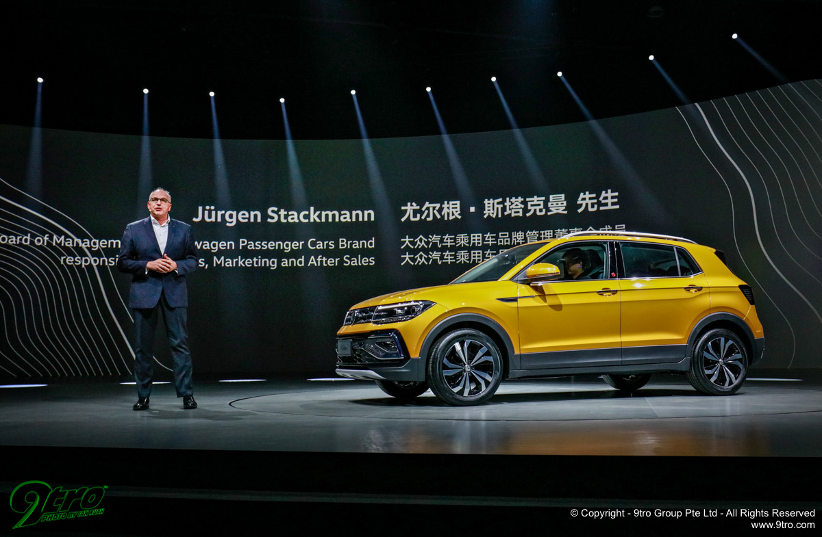 Volkswagen Group at 2019 Auto Shanghai