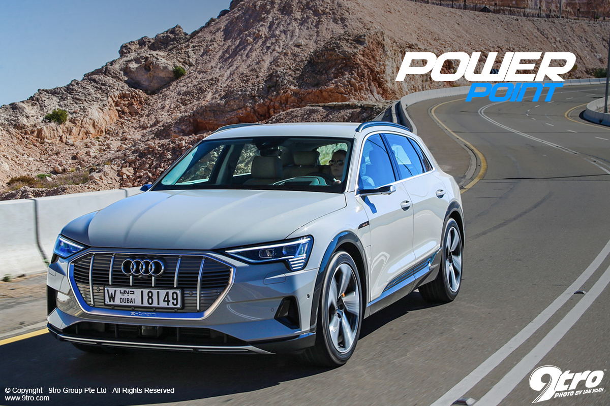 Audi e-tron - Power Point