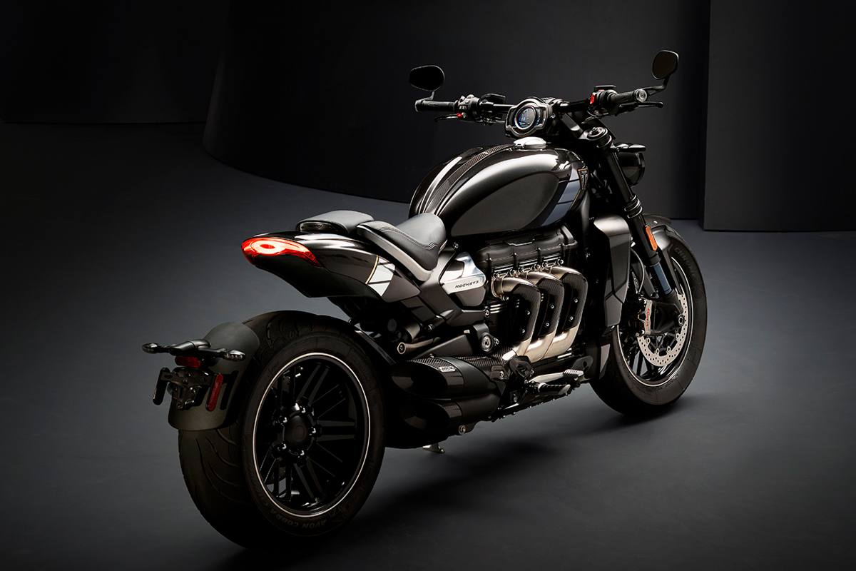 All New Triumph Rocket 3 TFC