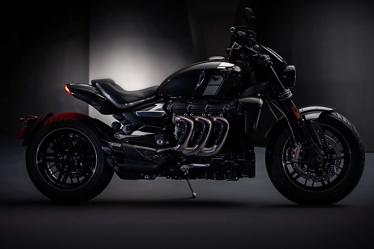 All-new Triumph Rocket 3 TFC