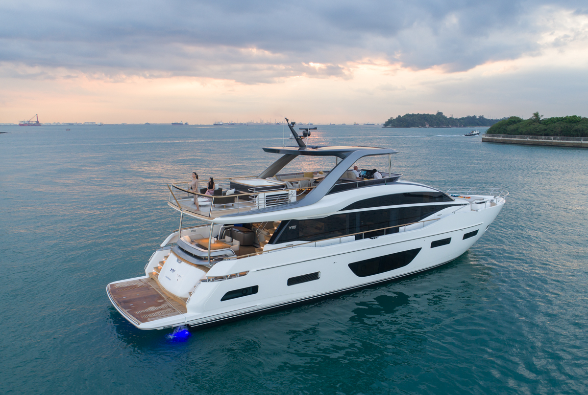 Princess Yachts - official asia launch