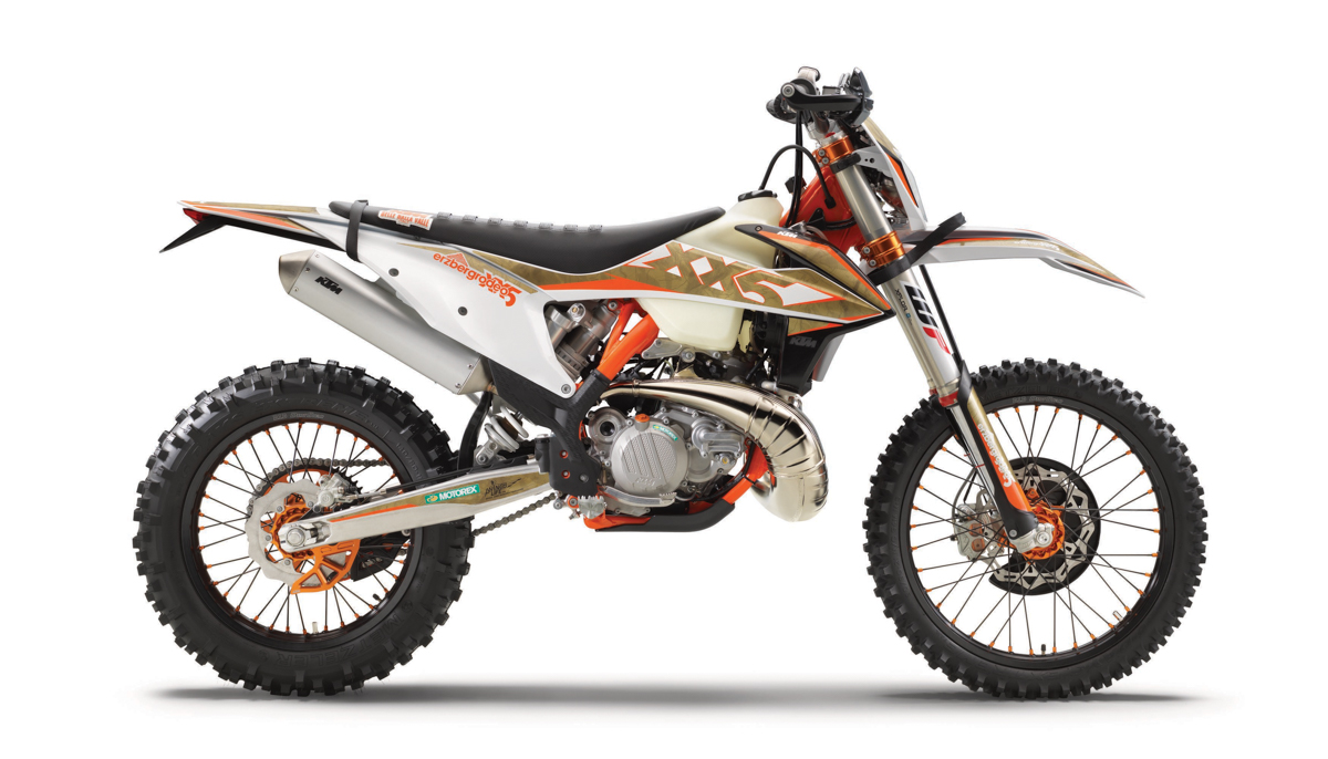 KTM launches a new generation of enduro machines