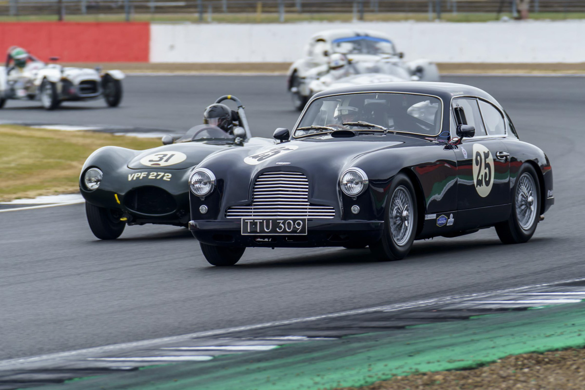 Aston Martin heritage racing ready for action at Silverstone Classic