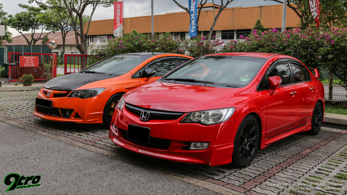2019 Honda Civic FD Club Singapore Meet