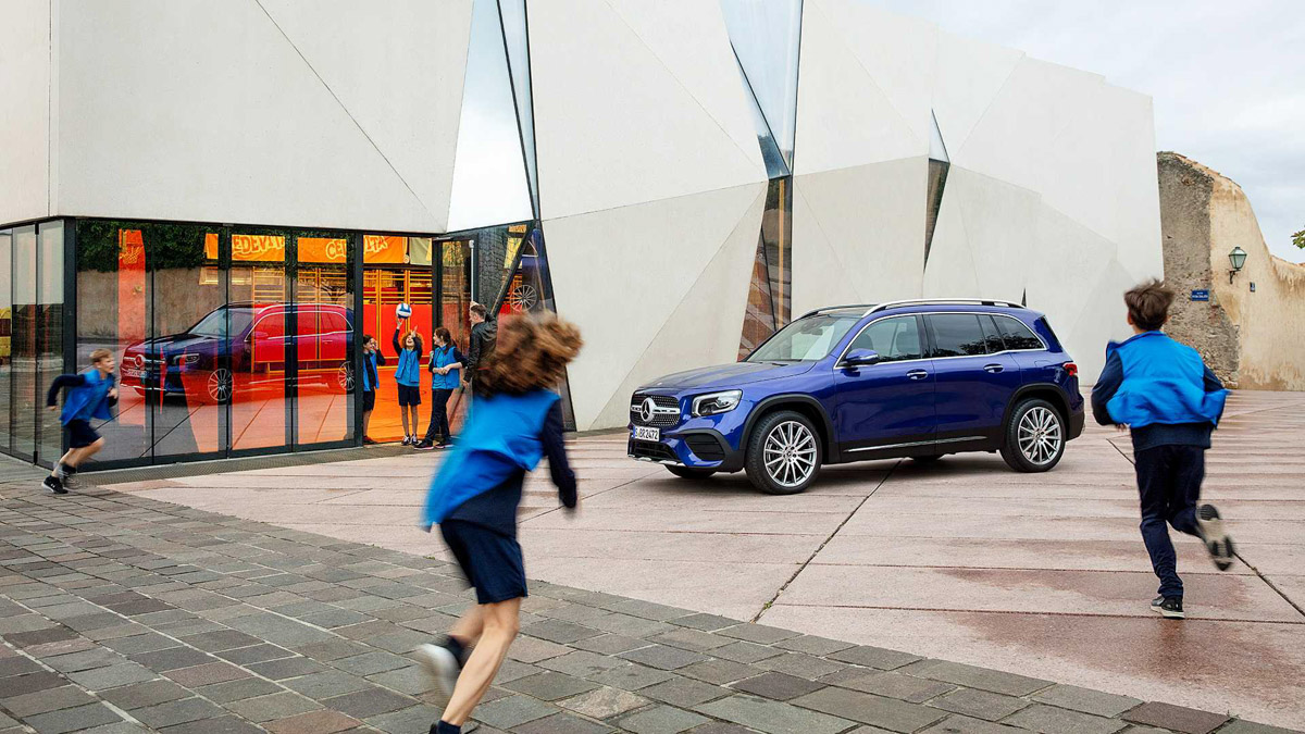 The new Mercedes-Benz GLB