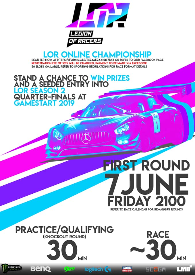 2019 Legion Of Racers Esports Championship - Round 1