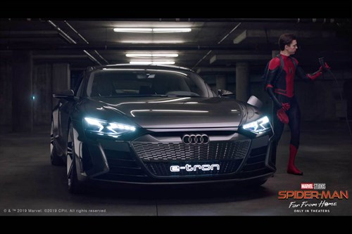 Audi e-tron - Spider-Man Far From Home
