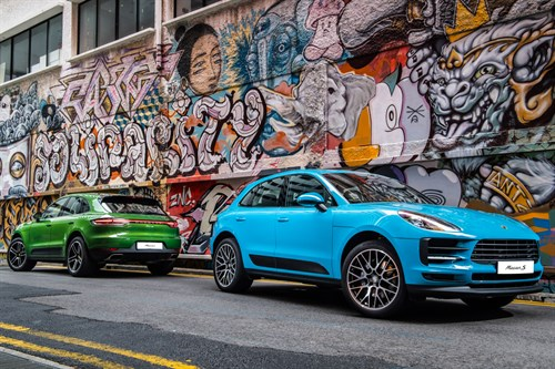 The new Porsche Macan in Singapore