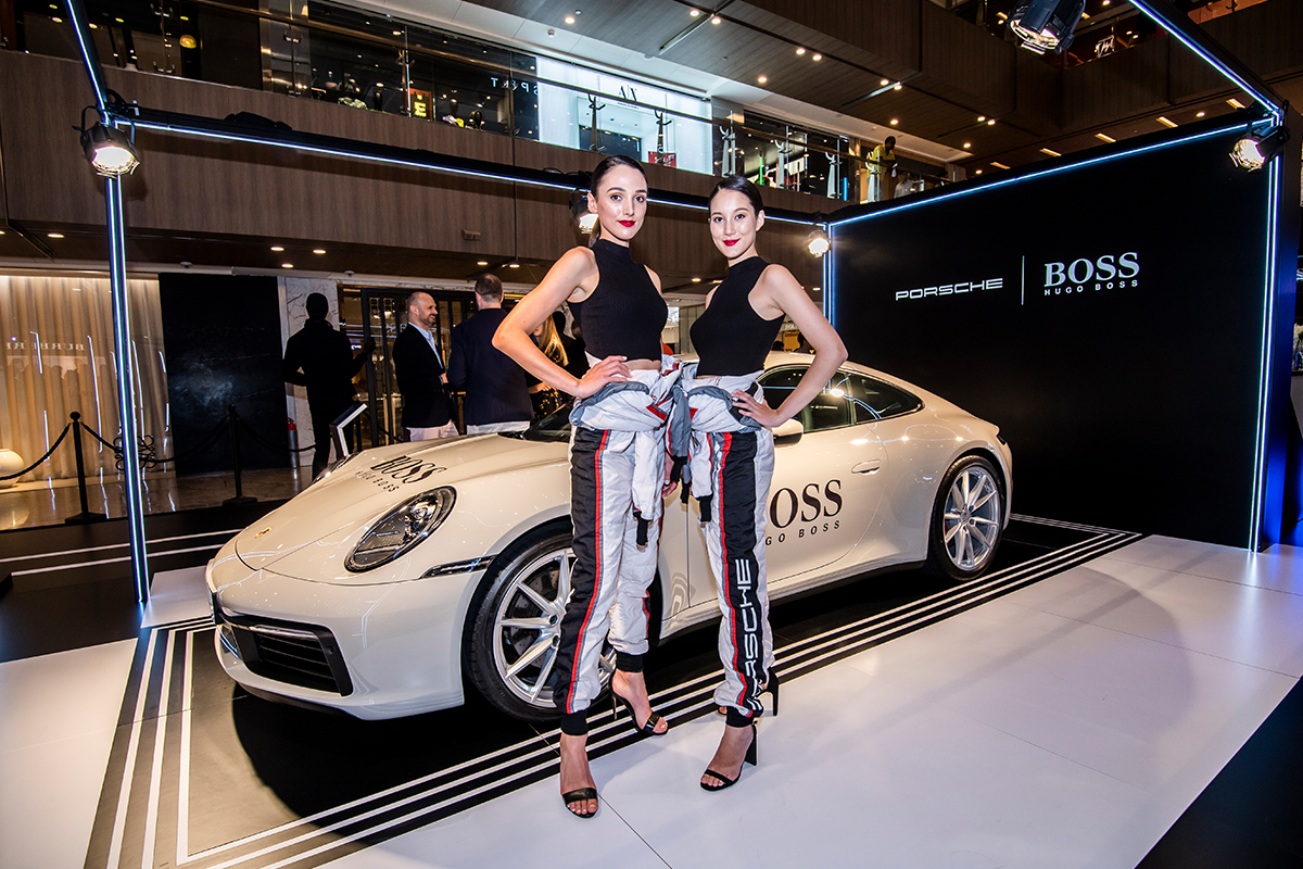 Porsche and Hugo Boss celebrate their global partnership in