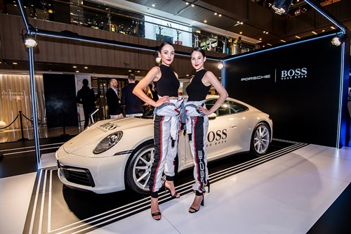 Porsche and Hugo Boss celebrate their global partnership in Singapore