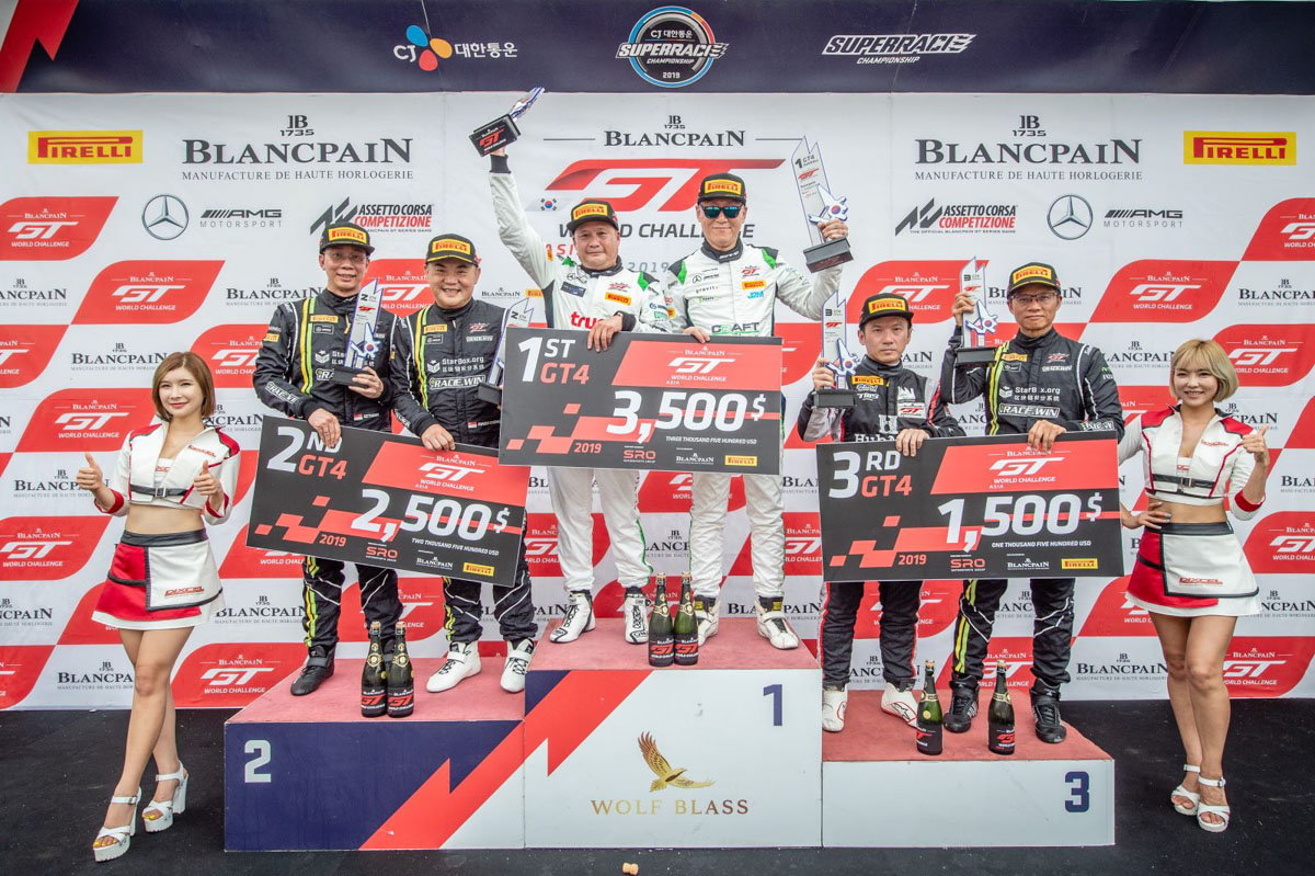2019 Blancpain GT World Challenge Asia Round 5 - Race