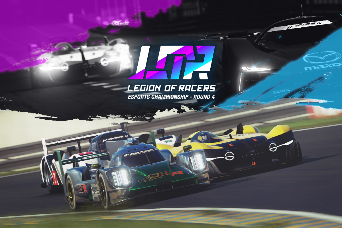 2019 Legion Of Racers Esports Championship - Round 4
