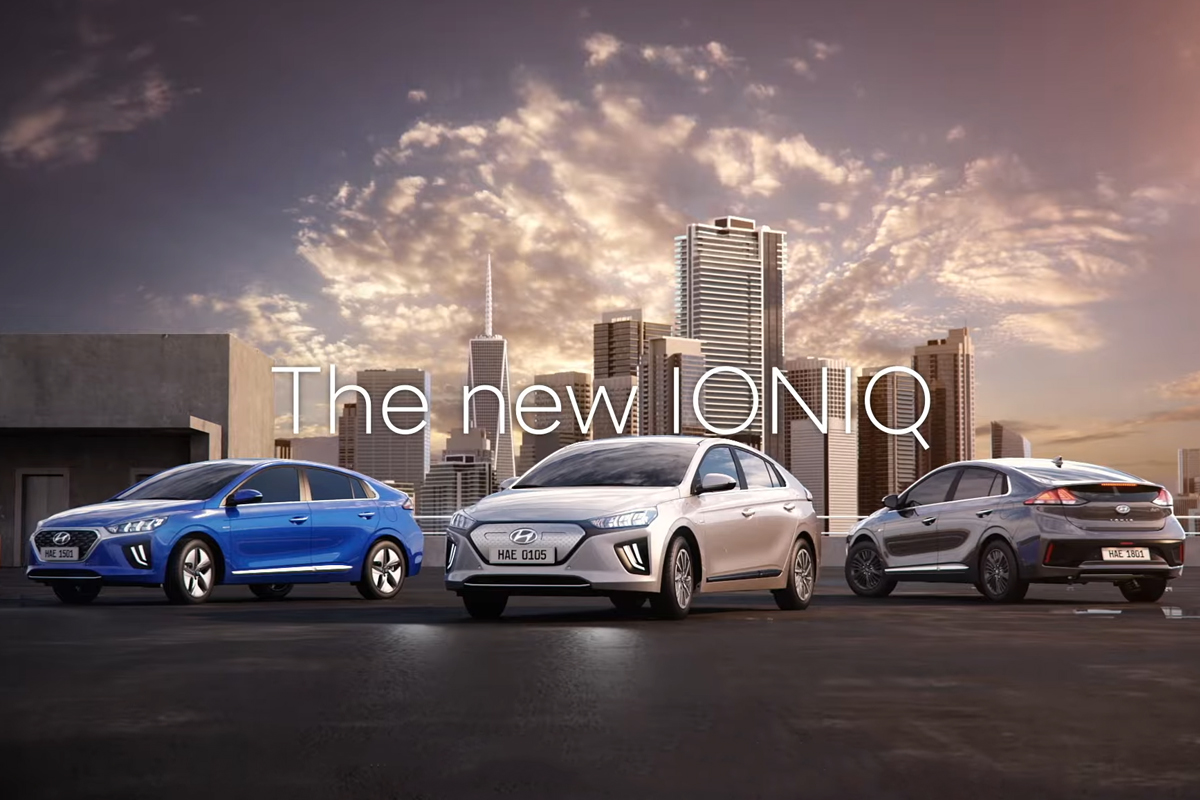 All-new Hyundai Ioniq