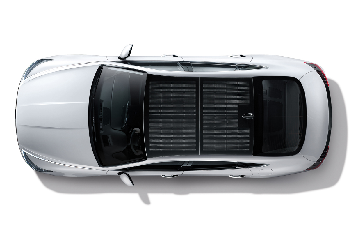 Hyundai launches first car with solar roof charging system