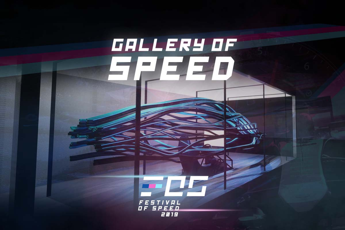 Gallery Of Speed at the 2019 Festival Of Speed