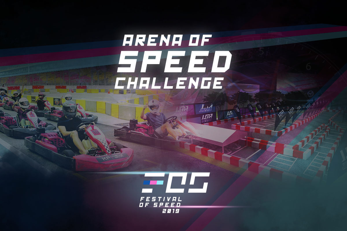 Arena Of Speed Challenge at the 2019 Festival Of Speed