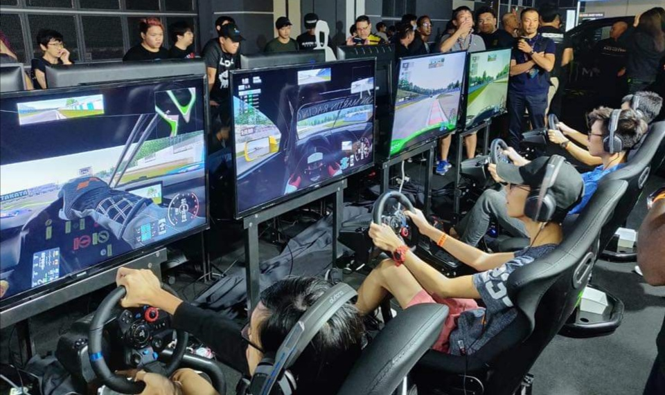 Zouk eRacing Challenge at the 2019 Festival Of Speed