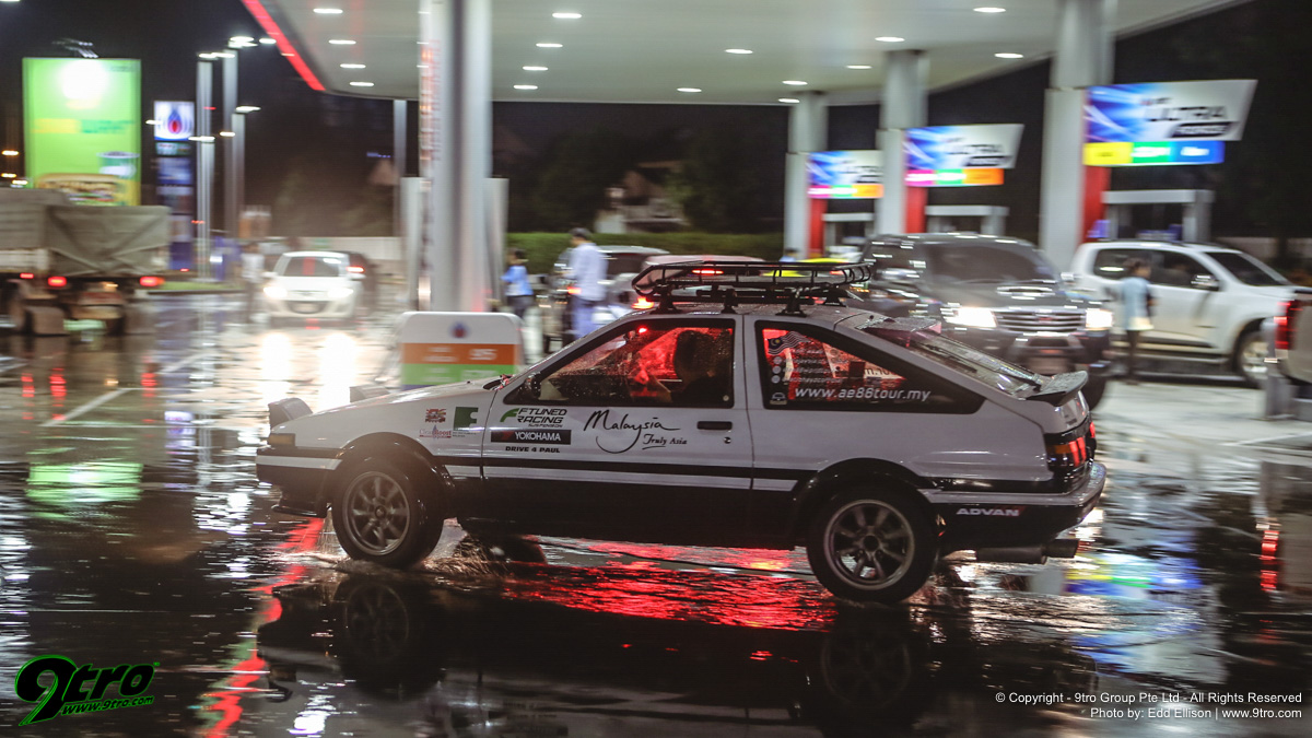 Across the world in an AE86