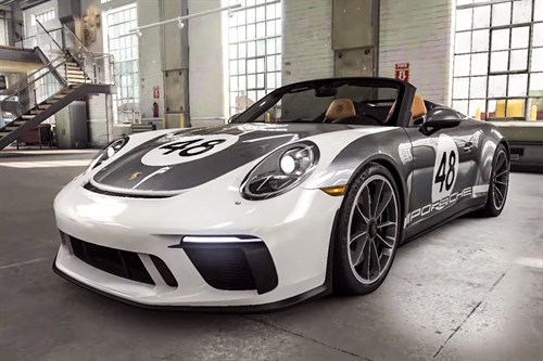 Porsche 911 Speedster in CSR Racing 2