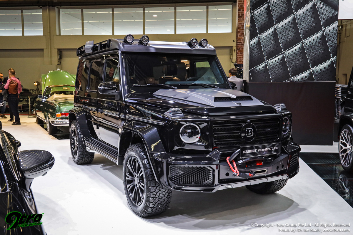 Mercedes-Benz at the 2019 Frankfurt IAA Motor Show