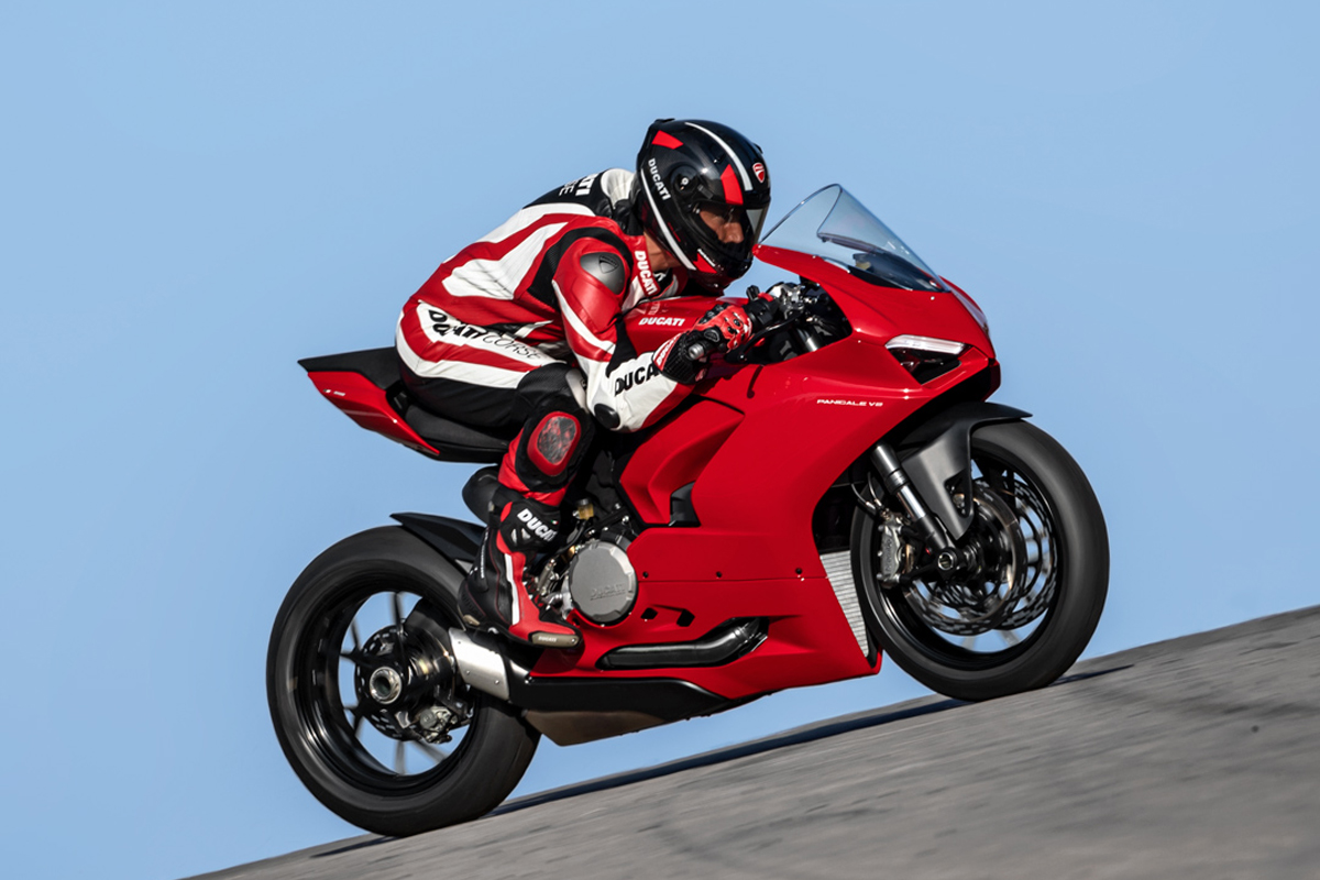 The new Ducati Panigale V2