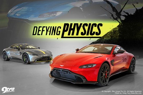 Aston Martin Vantage AMR - Defying Physics