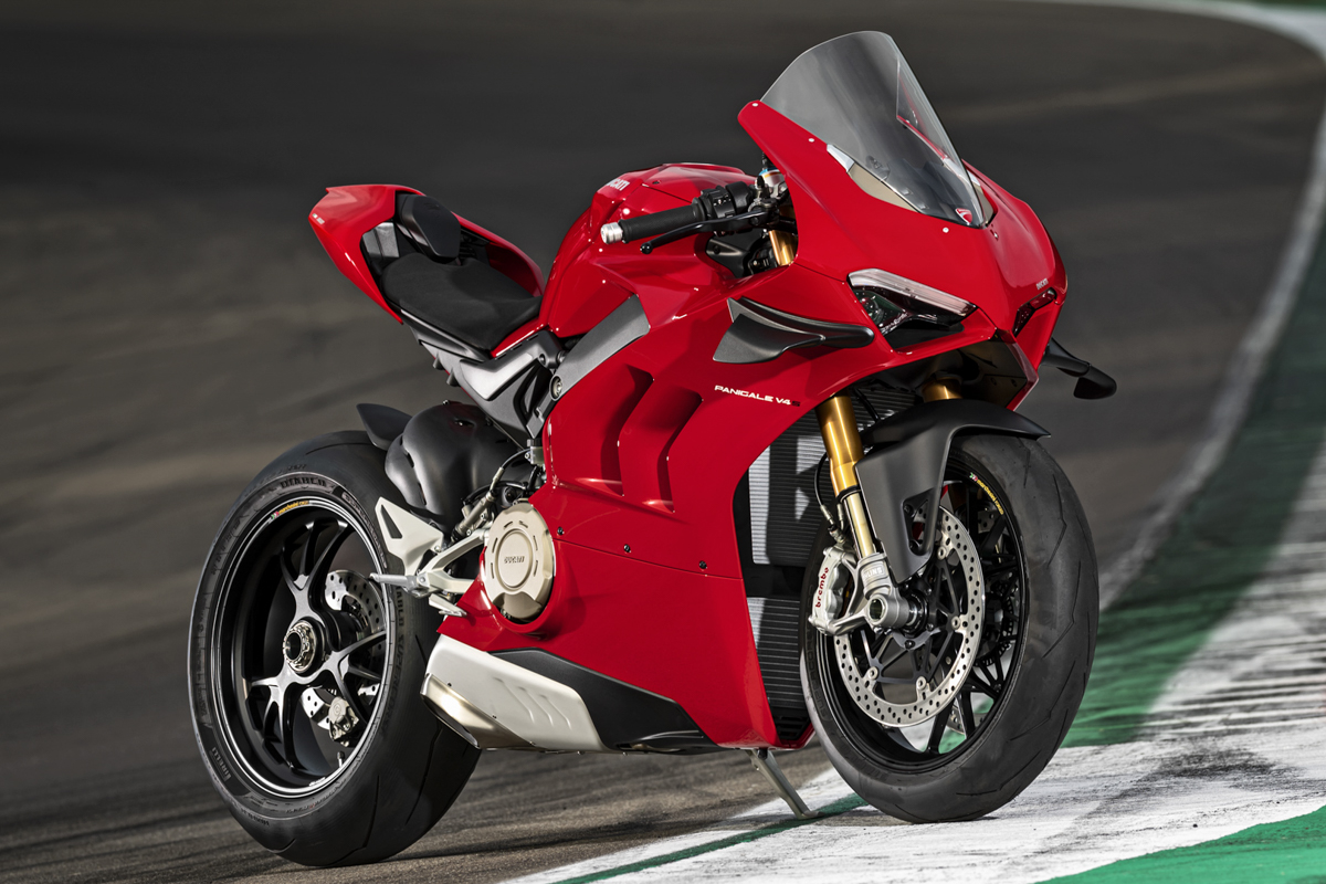 The new Ducati Panigale V4 S