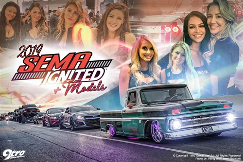 2019 SEMA Show - Part 3 (Models & SEMA Ignited)