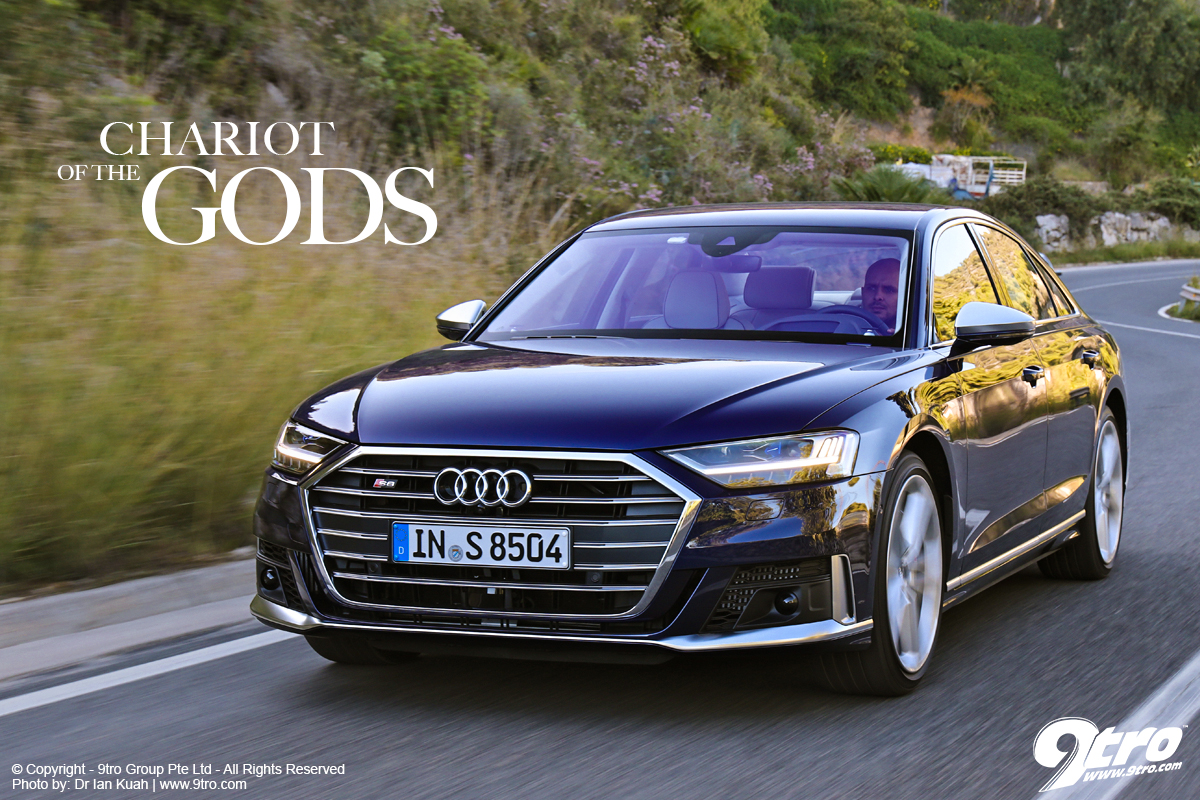 Audi S8 - Chariot of the Gods