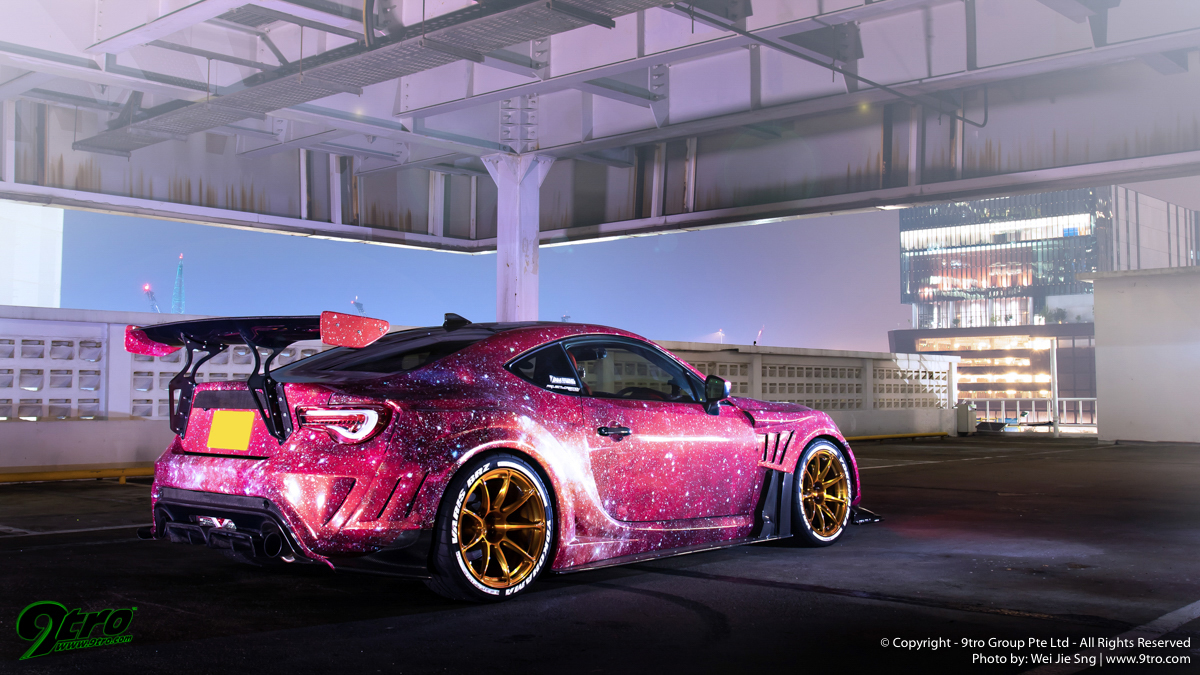 Subaru BRZ – A galaxy var var away