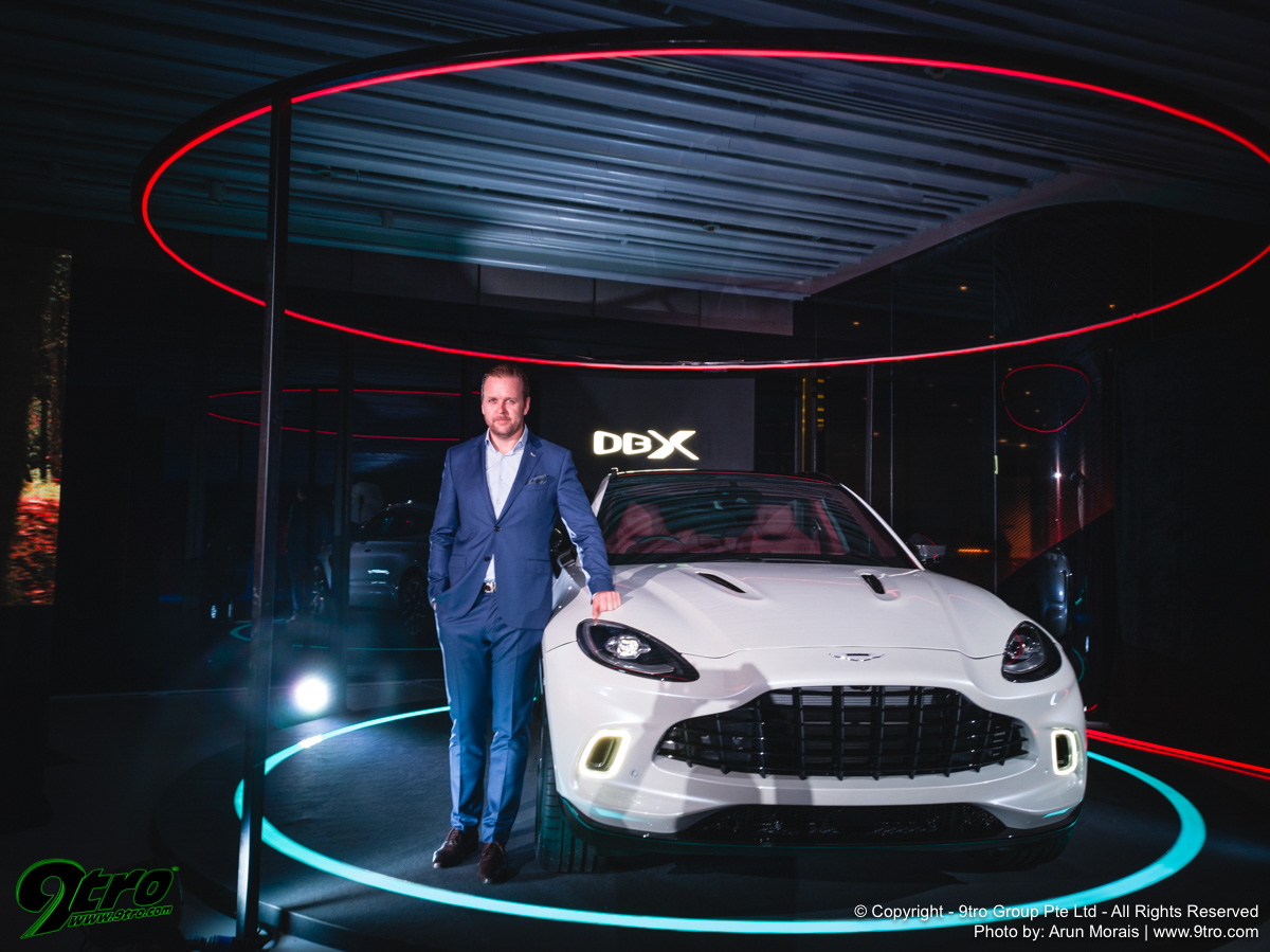 Aston Martin DBX - Singapore Launch