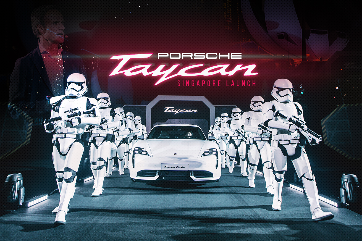 Porsche Taycan - Singapore Launch