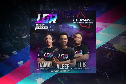 Legion of Racers is set for Le Mans Esports Series