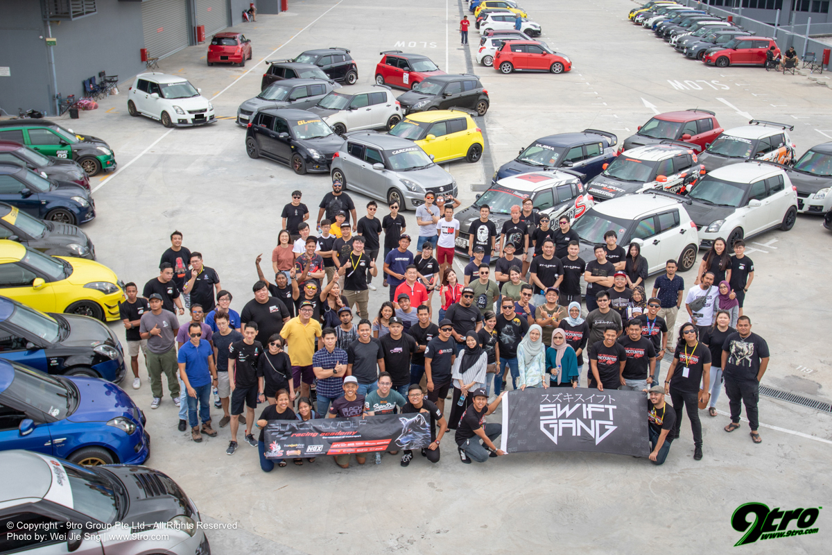2019 Suzuki Swift Mega Meet Singapore