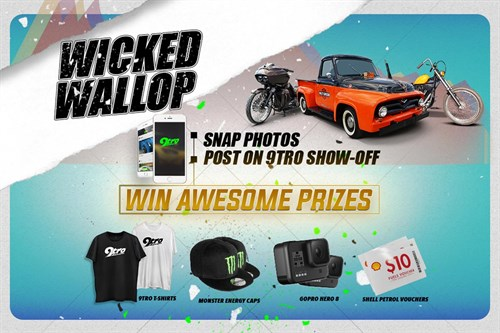 9tro Show Off - 2020 Giveaway Campaign 1 (Wicked Edition)