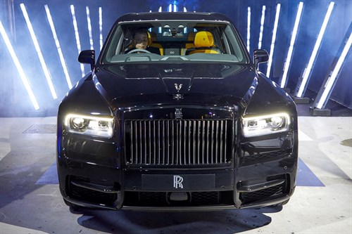 Rolls-Royce Black Badge Cullinan - Singapore Launch
