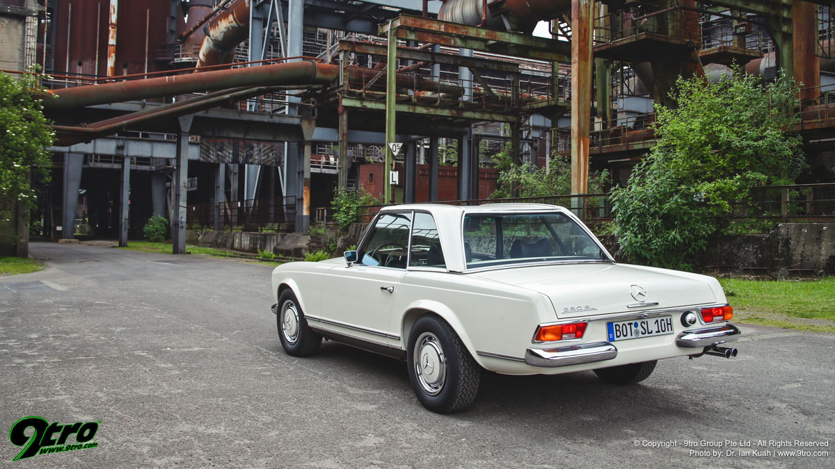 Brabus Classic 280SL Pagoda - Second Time Round