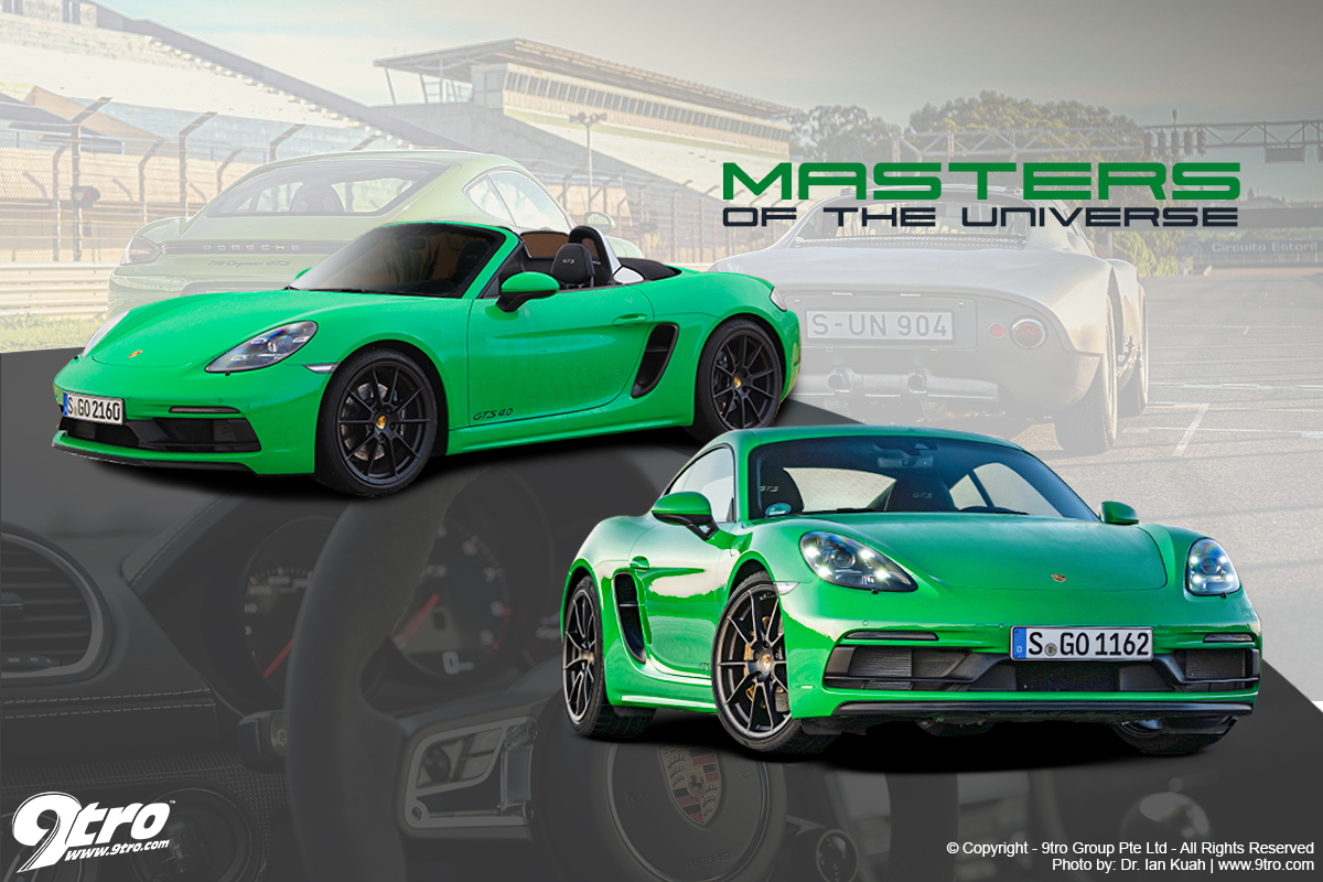 Porsche 718 Boxster & Cayman GTS 4.0 - Masters of the Universe
